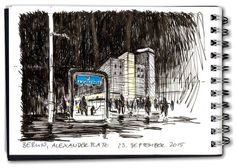 Jens Huebner - Berlin, Alexanderplatz