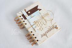 Odskocznia vairatki: Beżowy notes Notebooks, Scrapbooking, Notebook, Scrapbooks, Memory Books, Scrapbook, Laptops