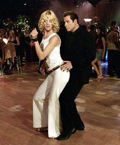 "John Travolta and Uma Thurman in ""Be Cool"""