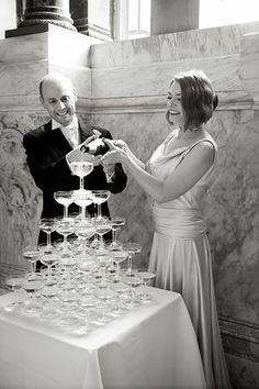 The Fun of the 1920s and Glamour of the 1930's ~ A London Wedding at Dartmouth House...