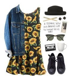 """""""Backseat Serenade"""" by jocelynj17 ❤ liked on Polyvore featuring Crate and Barrel, Rascal, Ray-Ban, Topshop, Converse, Kate Spade, Arabia, women's clothing, women and female"""