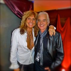 Jimmy Page David Coverdale