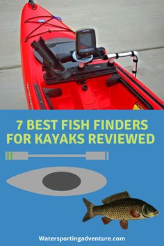 Improve your kayak fishing game by checking out our favourite fish finders for kayaks. This hands on guide will give you our best fish finders for Marlin Fishing, Trout Fishing Tips, Sea Fishing, Saltwater Fishing, Kayak Fishing, Kayak Fish Finder, Kayaks, Perception Kayak, Winter Fishing