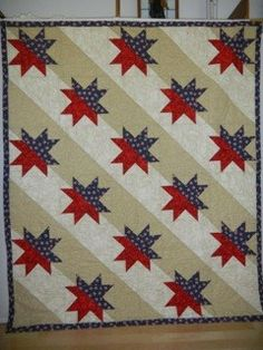 I got a wonderful email over the weekend from Sue in Arizona. She's been busy teaching AccuQuilt classes and working on Quilts of Valor. She used the Split Star pattern and created a beautifu…