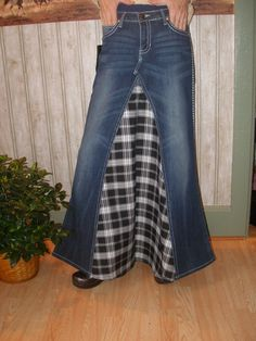 Dare to be different Stylish jean skirts made to fit by Jeanskirts