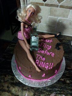 Barbie  Bachelorette Cake
