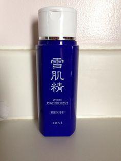 White Powder Wash - SEKKISEI. K O S É Best stuff ever!