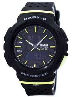#Casio Baby-G Shock Resistant Dual Time Analog #Digital BGA-240-1A2 Women's Watch