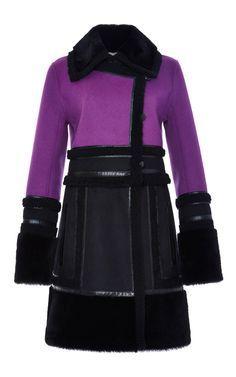 Wool Cashmere Fitted Coat - J. Mendel Resort 2016 - Preorder now on Moda Operandi