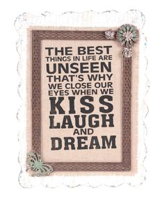 This Cream & Brown 'The Best' Wall Art by Wilco is perfect! #zulilyfinds