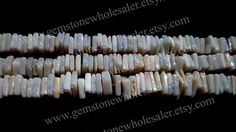 Australian Opal Smooth Square Quality A / 6 by GemstoneWholesaler