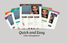 derney is an embodiment of versatile corporate template for any web site creation