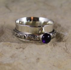 Elegant Spinner Ring by charmedlifedesigns on Etsy, $52.00