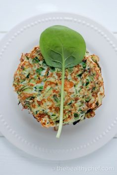 Zucchini Fritters  thehealthychef.com  What makes it great: Low in fat and carbs and a good source of protein + fibre that fills you up + keeps blood sugars steady, making zucchini a perfect food if you're watching your weight.  What I love about these is that they not only taste great but they marry with so many of my favourite ingredients such as Persian feta, baby spinach, lemon + avocado. Enjoy them hot or cold  - perfect for breakfast, picnics or  take to work lunch boxes.