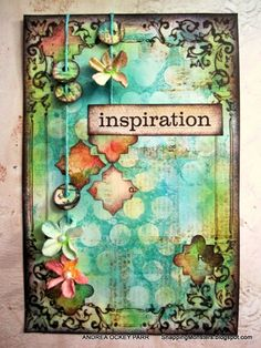 I love Andrea's works!  My Cards and Tags: Inspiration by Andrea Ockey Parr using Papertrey Ink