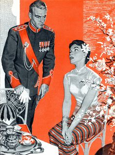 Illustration for the serial The Peacock Pagoda. by totallymystified, via Flickr