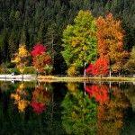 Autumn in Dolomites, Italy