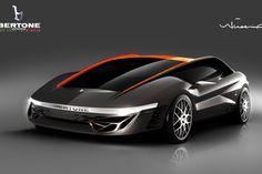 Bertone Nuccio Black Concept Car