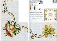 Gráficos de Ponto Cruz: Ponto Cruz gráficos de Natal