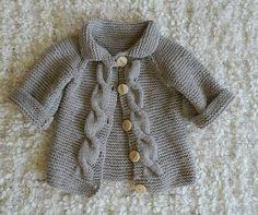 Bebek hırka modeli