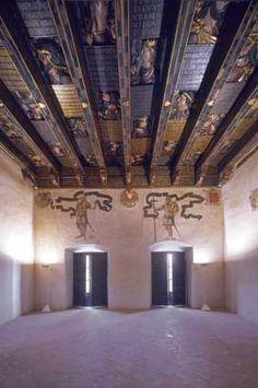 Museo Casa de los Tiros de Granada, la memoria viva de una ciudad. Granada Andalucia, Spanish People, Medieval Castle, Ceilings, Spain, Tower, Explore, Gallery, Building