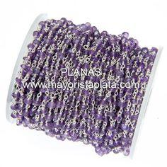 Cadena de Plata y Minerales ( Agatas).Se vende a metros.Precio de 1 metro.http://mayoristaplata.com/cadenas/3927-cadena-de-plata-y-minerales.html
