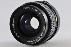 [Exc] MAMIYA-SEKOR C 55mm F2.8 N MF Lens For MAMIYA 645 #MAMIYA