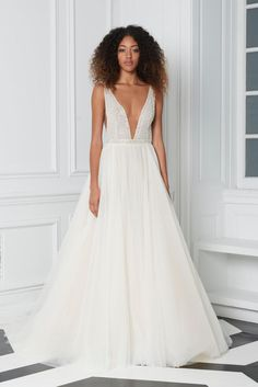 Bliss by Monique Lhuillier- BL18213 Wedding Dress Chiffon, Wedding Gowns, Monique Lhuillier Bridal, Informal Wedding Dresses, Princess Ball Gowns, Summer Fashion For Teens, Casual Dresses, Formal Dresses, Bride