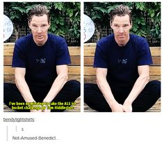 He looks scared and angry at the same time. I guess his daily tea-time with Tom was a bit awkward that day