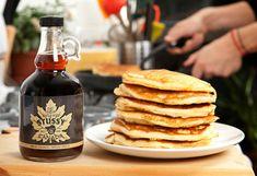 Stussy maple syrup - transparent wraparound label with logo