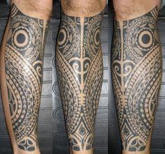 Polynesian Owl Tattoo by Aleks, Northeast Tattoo and Piercing, Minneapolis, MN,Twin Cities, Tahitian Tattoo, Tribal Tattoo, Tattoo Artist Polynesian Tattoo, Tribal Tattoos, Tattoo Artists, Calf Tattoo, Tattoo Inspir, Owl Tattoos