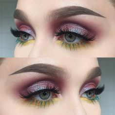 """275 Likes, 1 Comments - @helenesjostedt on Instagram: """"I used @nablacosmetics eyeshadows Fahrenheit and alchemy + brow Divine and brow pot in Neptune…"""""""