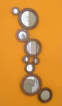 Χειροποίητη δημιουργία σε ξύλο-δείγμα απ τη μεγαλύτερη σειρά χειροποίητων καθρεφτών στην Ελλάδα.Για να δείτε περισσότερα/// www.x-esio.gr Mirror, Furniture, Home Decor, Decoration Home, Room Decor, Mirrors, Home Furnishings, Home Interior Design, Home Decoration