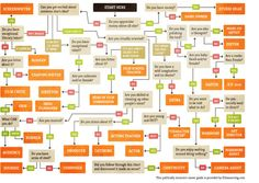 The film industry career flow chart