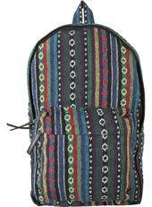 Bright Pattern Weave Rucksack