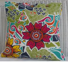 SCATTER CUSHION COVER 40 X 40CM 'HARMONY' - THROW CUSHION COVER