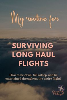 I prefer non stop flights, even if they are 12 to 16 hours long. Here are my tips for surviving a long haul flight. Packing Tips For Travel, Travel Advice, Travel Guides, Travel Hacks, Long Flight Tips, Get Up And Walk, International Travel Tips, Long Flights, Long Haul