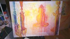 Explosion My Arts, Draw, Ceramics, Painting, Ceramica, To Draw, Painting Art, Sketch, Ceramic Art