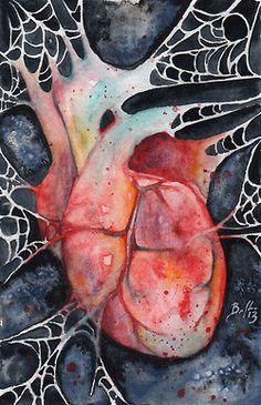 keep breathing, by Braden Duncan The Tell Tale Heart, David Mack, Mailer Design, Duncan, Fantasy Tattoos, Horror, New Art, Note Cards, Illustration Art