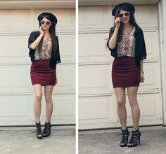 Molcajete Print Mini Skirt   Minigonne, Gonne e Miniature