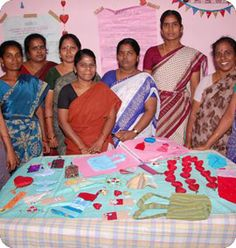 @WorldCrafts Artisan: {Vijaya Deepam Trust ~ India} Vijaya Deepam Trust works with young women in their early 20s to mid-30s in India. These women come from impoverished backgrounds, and the money they earn through Vijaya Deepam Trust allows them to feed their children and pay for their education. All profits made through the sale of their products are shared among the women. Some of the women's spouses are addicted to alcohol, leaving them to be the family's primary providers. #fairtrade