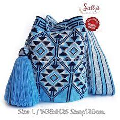 Wayuu-Taschenmodell - Canan Al - - Wayuu-Taschenmodell - Canan Al Tapestry Bag, Tapestry Crochet, Crochet Purses, Crochet Bags, Filet Crochet, Diy Crochet, Wiggly Crochet, Mochila Crochet, Knitting Accessories