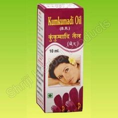 Kumkumadi Oil prevents the skin from tanning.  Protects from sunlight, improves complexion, removes the dark scars from the body , scars of pimples , lichen planus, Measles, burns , Dark shadow below the eyes etc.