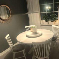 Maison matgrupp 240cm grått inkl 6st blues stolar Stort