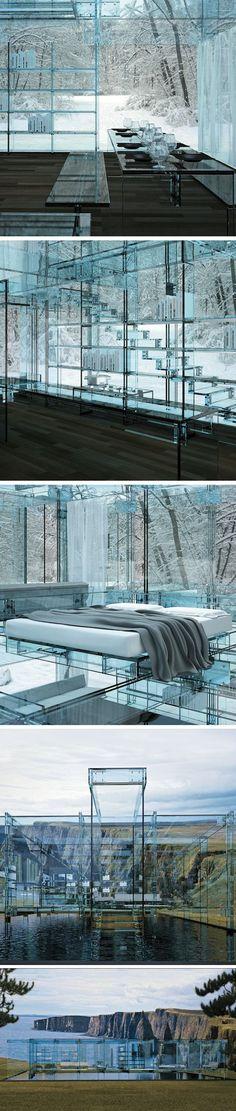 Glass Homes par Santambrogio - Journal du Design