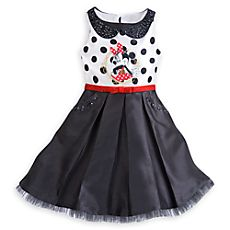 Disney Minnie Mouse Sleeveless Dress for Girls Disney Dresses For Girls, Disney Girls, Disney Outfits, Girls Dresses, Summer Dresses, Disney Clothes, Mickey Mouse Costume, Black Pleated Skirt, Mickey Mouse And Friends