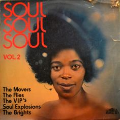 Soul Soul Soul Vol  Compilation Jazz/Jive/Funk South Africa