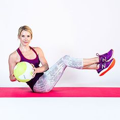 Medicine Ball Russian Twists: Ab workouts, from simple to killer, to help you flatten your belly, burn fat, and strengthen your core. | Health.com