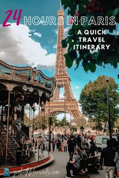 24 Hours in Paris: A Quick Travel Itinerary. An unapologetically quick and tourist intro to the City of Light. Where to stay, what to do, and how to see the classics in a short amount of time. ✈ #eiffeltower #trocadero #carousel #seinerivercruise #notredameparis #frenchcafe #cityoflight #paris #parisaesthetic #travelitinerary Paris Travel Guide, Europe Travel Tips, Travel Guides, Travel Destinations, Quick Travel, France City, Disneyland Paris, France Travel, Travel Inspiration