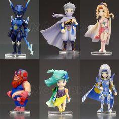 Final Fantasy IV 4 Trading Arts Mini Full Set x6 Pcs from Square Enix